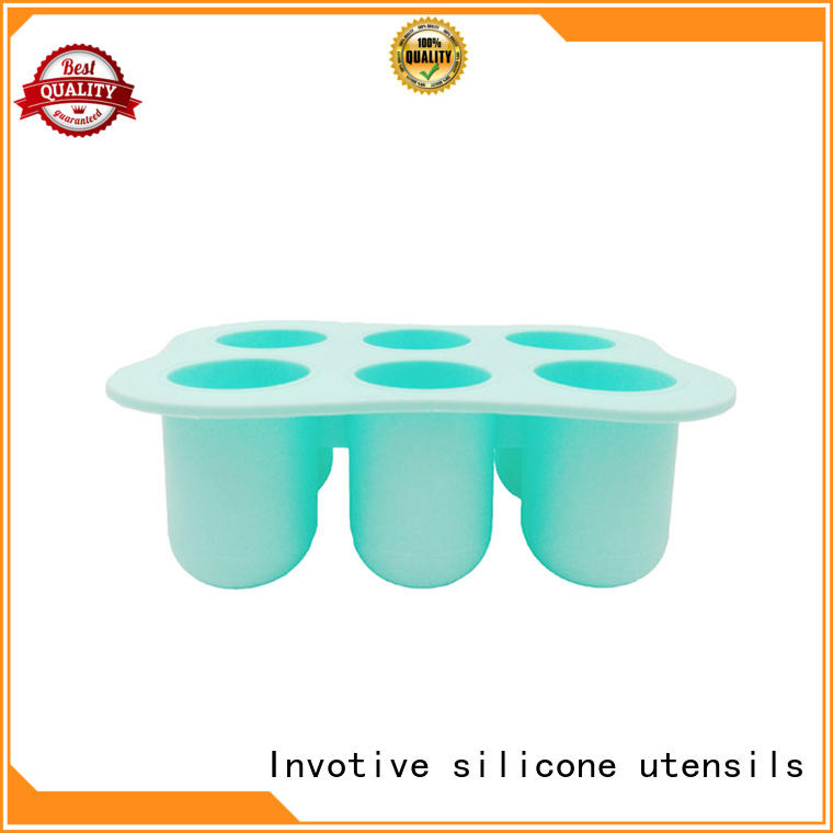 silicone ice cube tray freezer lolly silicone cookware mold Invotive Brand