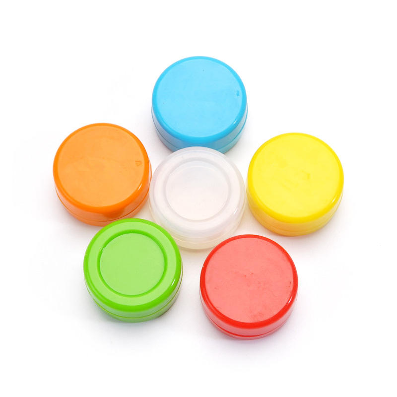 Food Grade Silicone Jars Dab Wax Container 5ml 8ml 10ml