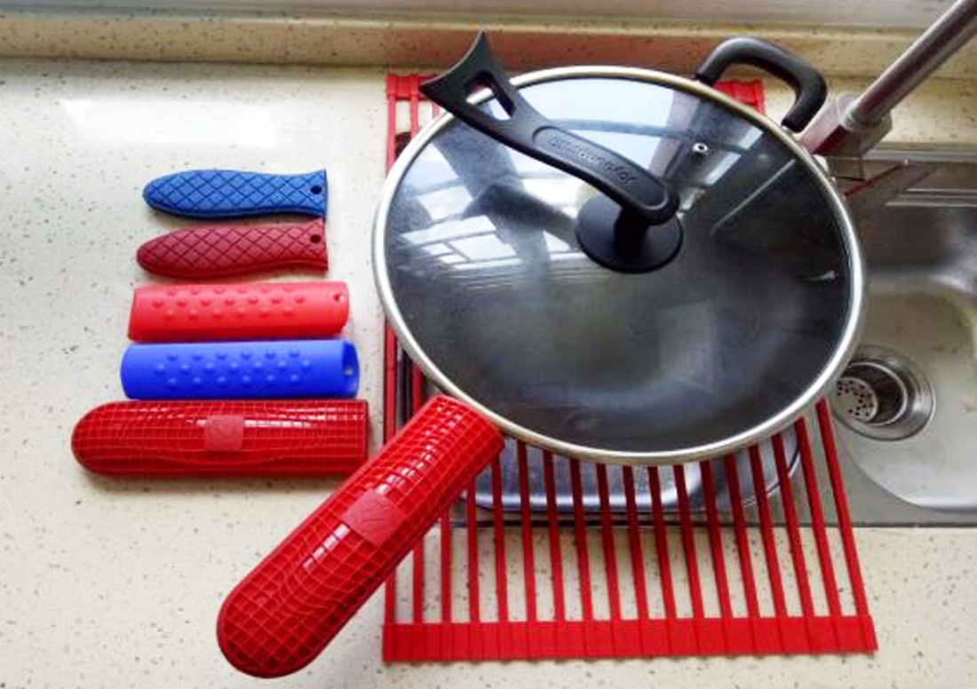 Invotive silicone handle holder for sale for oven-5
