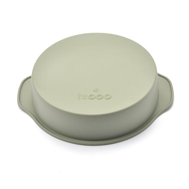 Sedex 4 Pillar Factory Silicone Cake Mold Round Silicone Baking Mold Pan
