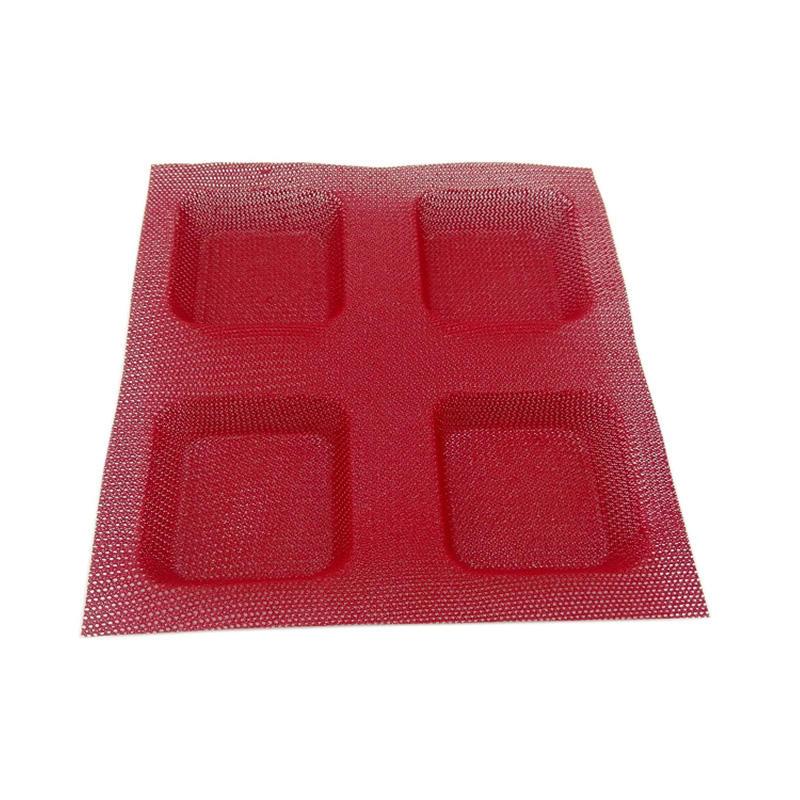 Reusable Non Stick Silicone Baking Bread Mold Silicone Coated Fiber Glass Mesh