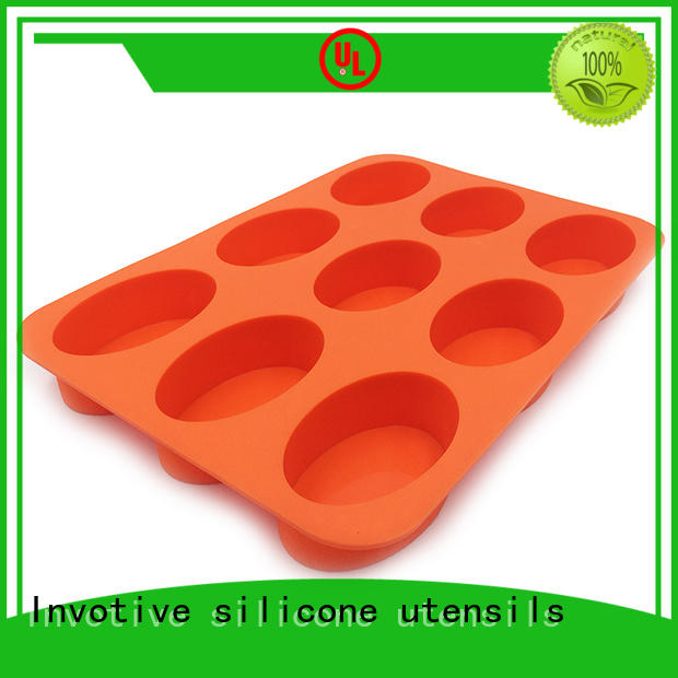 Wholesale homemade best silicone cooking utensils silicone Invotive Brand