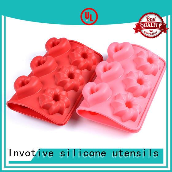 Invotive Brand grade non silicone muffin pan glass