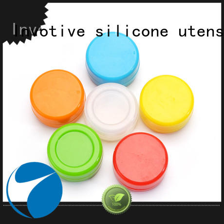 Invotive 100% quality silicone container supplier for dry herb storage