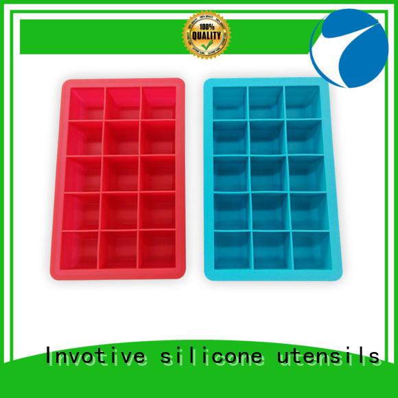 cream silicone cookware tray popsicle Invotive company
