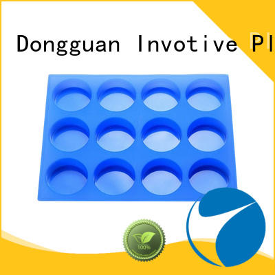 flexible soap round OEM silicone mold making Invotive