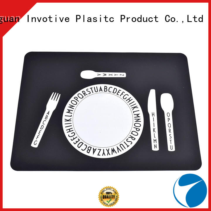 bibs table silicone placemats stain Invotive Brand company