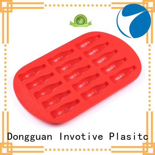 silicone mini ice cube tray form for wholesale Invotive