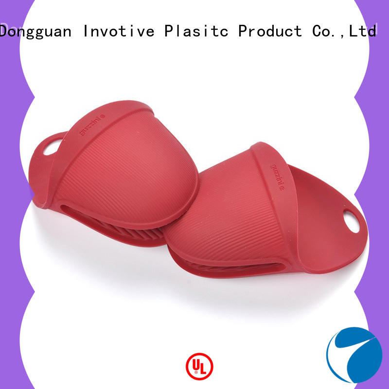 Invotive China silicone oven mitts manufacturers for microwave