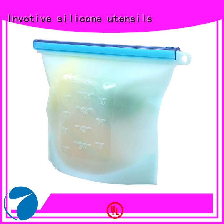 Invotive OEM ODM silicone food storage bag factory for importer