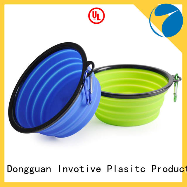 Custom silicone collapsible dog bowl China factory for precision sealing