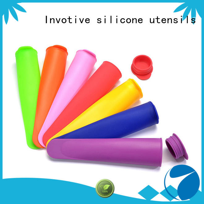 ball silicone ice maker logo for trade partner Invotive