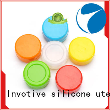 Invotive Custom silicone dab product company for dry herb storage
