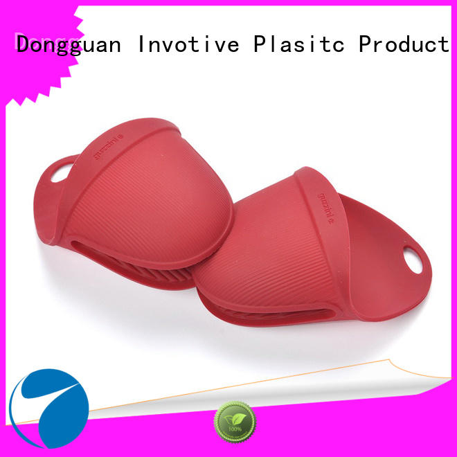 Invotive Custom silicone oven mitts supply for pan