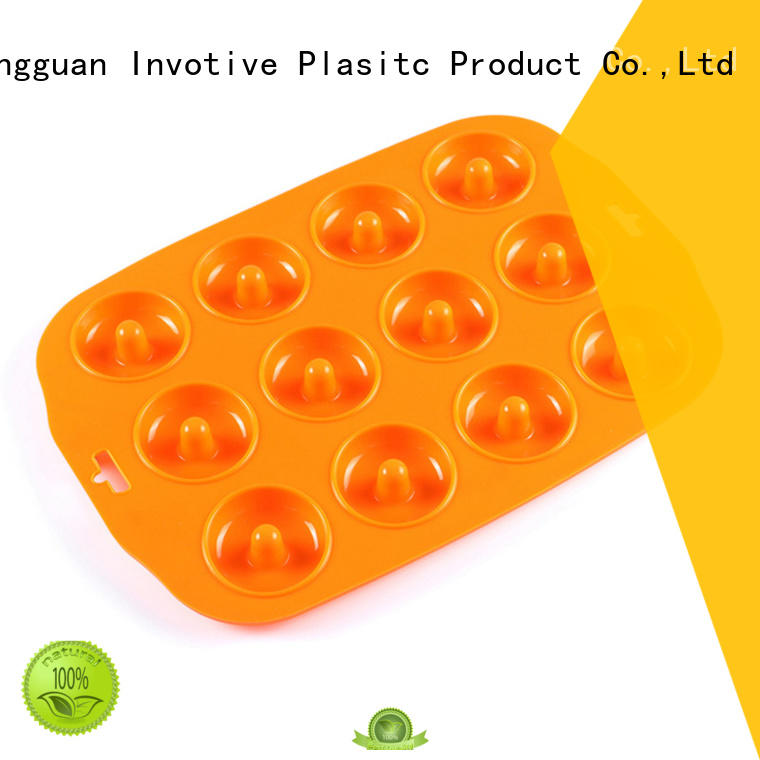 Invotive Brand pan cups stick custom silicone muffin pan