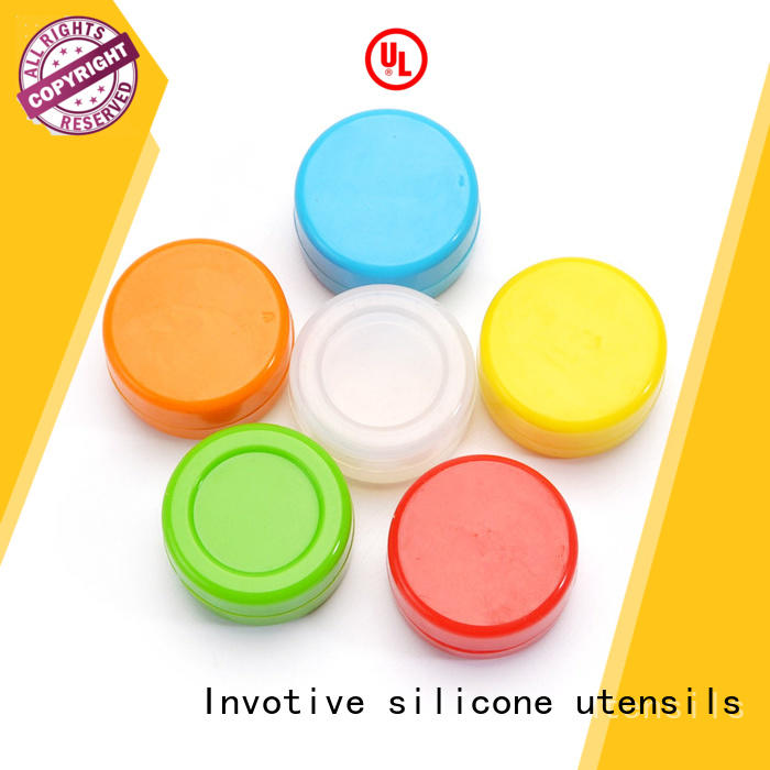 wax jars silicone silicone dab container Invotive