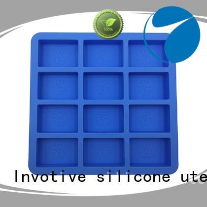 Wholesale cube rectangular silicone mold making Invotive Brand