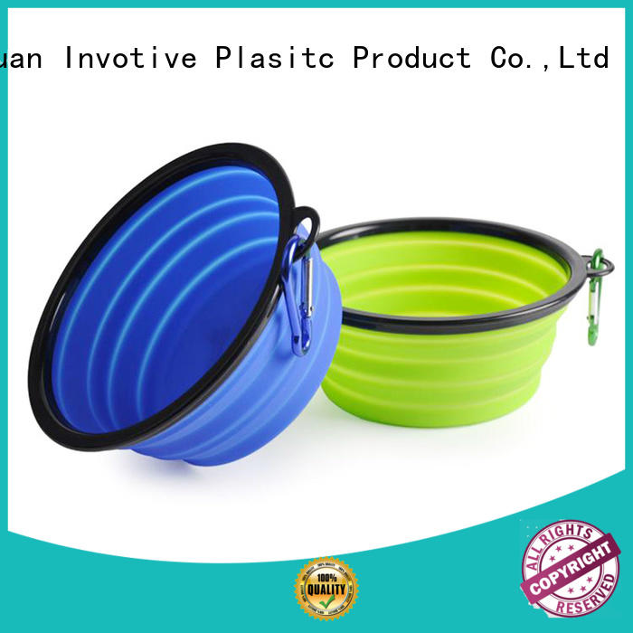 collapsible feeding silicone cake pans foldable bowl Invotive Brand