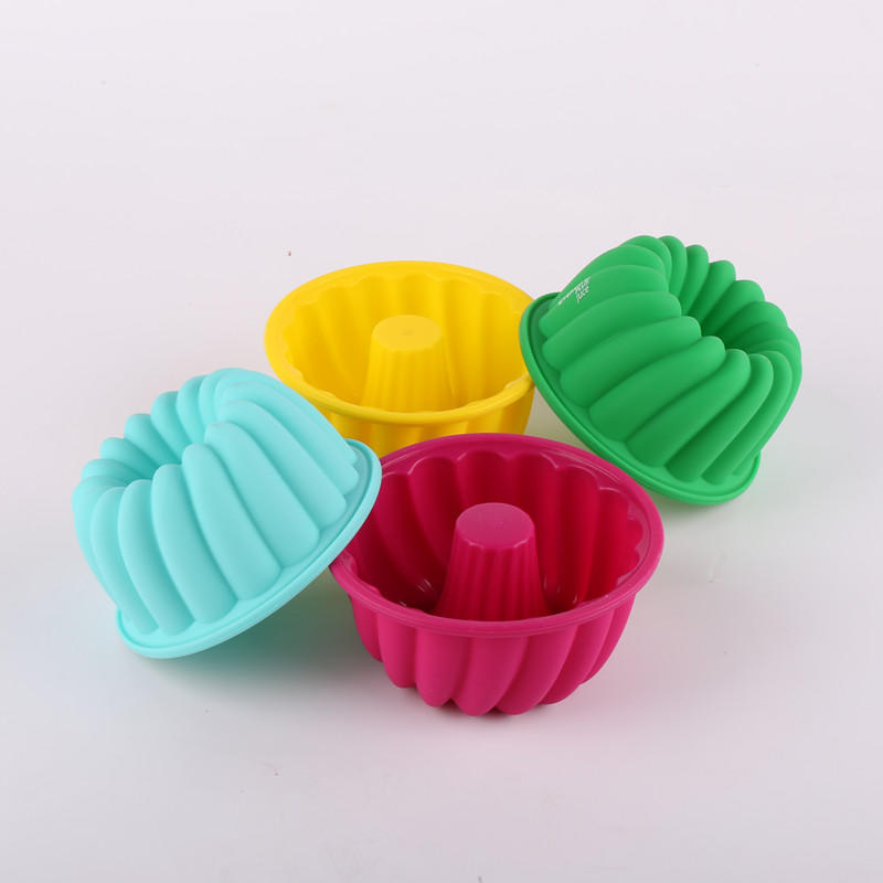 2019 Nestle approved factory made food grade  Wholesale Silicone Chiffon Cake Mold