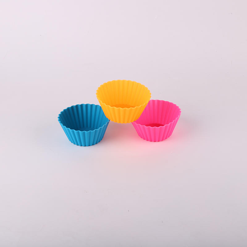 BSCI aduit factory made silicone  muffin mold for baking
