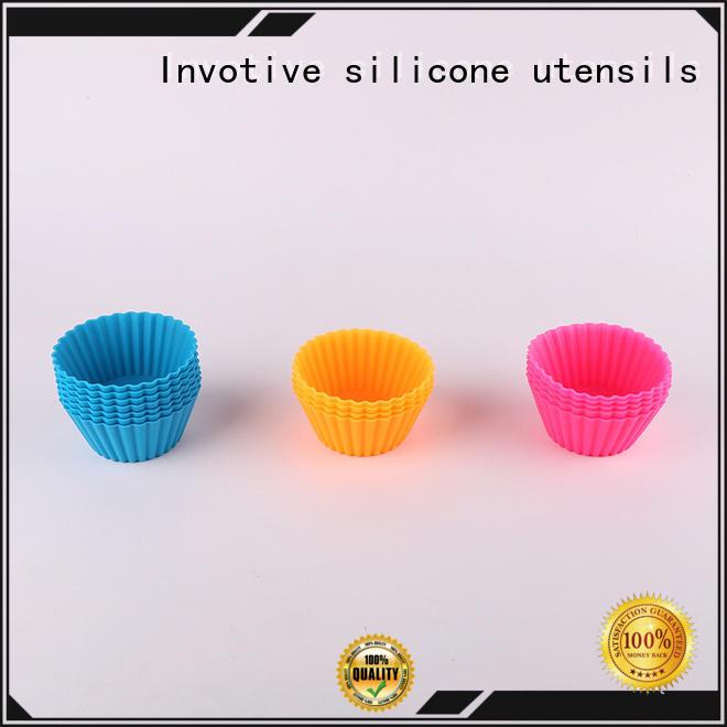 fiber cups silicone pan Invotive Brand
