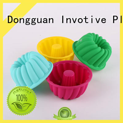 bread cups pillar Invotive Brand silicone muffin pan factory