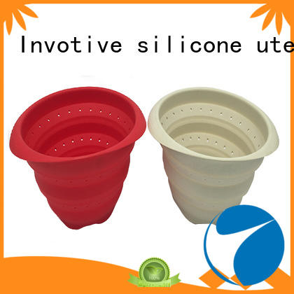 Custom silicone bowl collapsible for sale for food storag