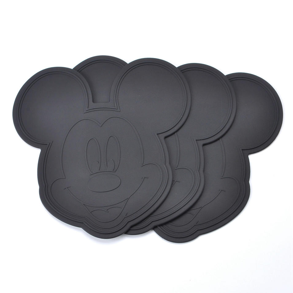 Newest design Eco - friendly materials coffee table mat pot mat silicone cup mat