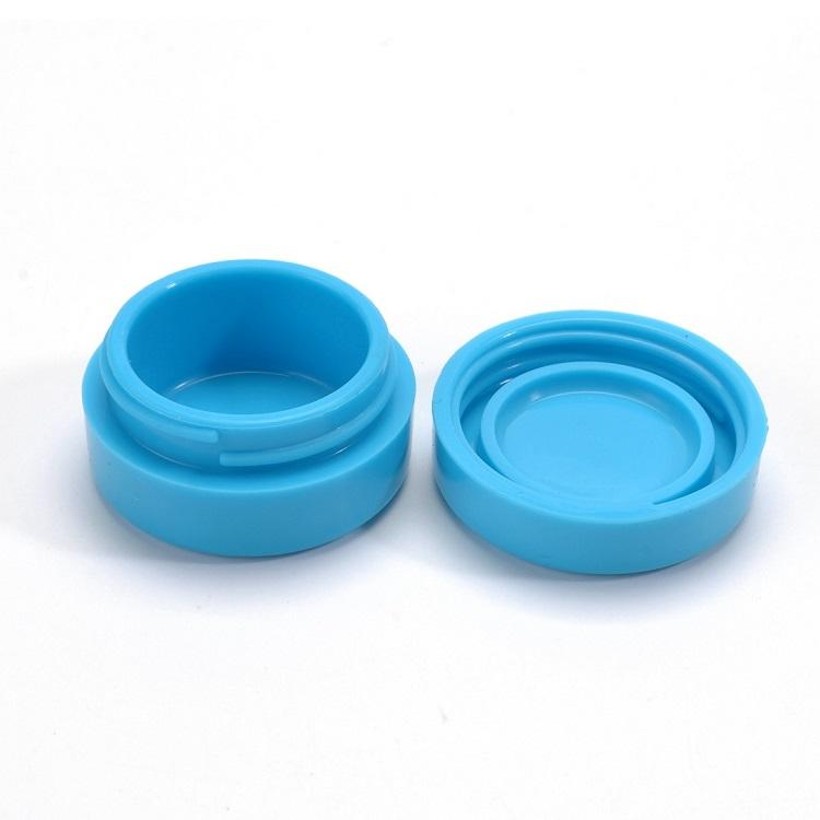 Sedex Factory Food Grade Custom Clear Silicone Container 5ml 8ml 10ml