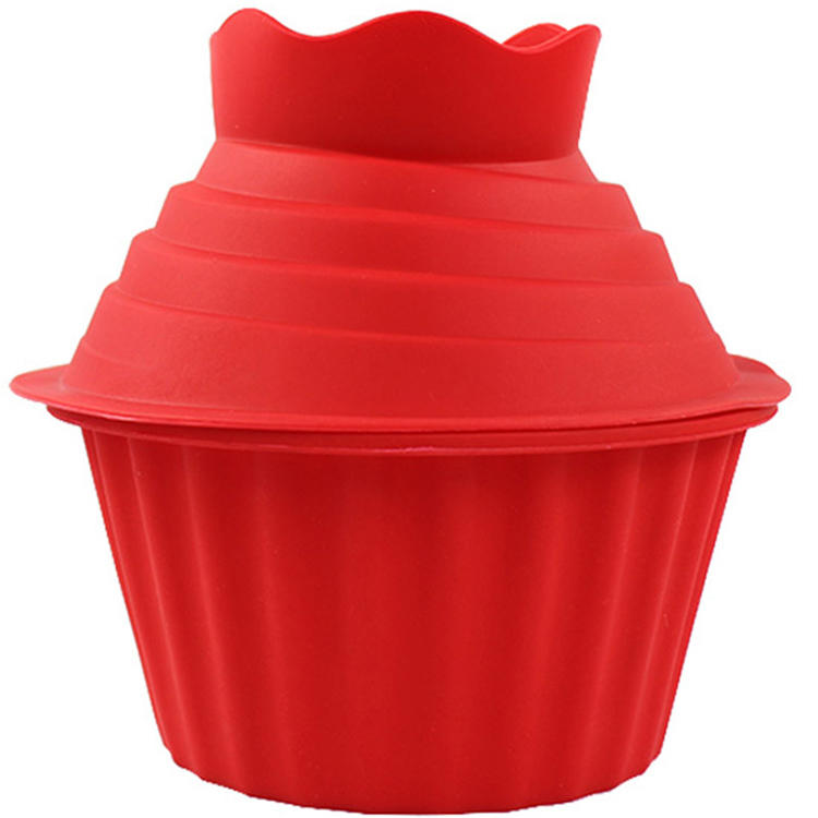 China Manufacture Wholesale Silicone Cupcake baking Mold