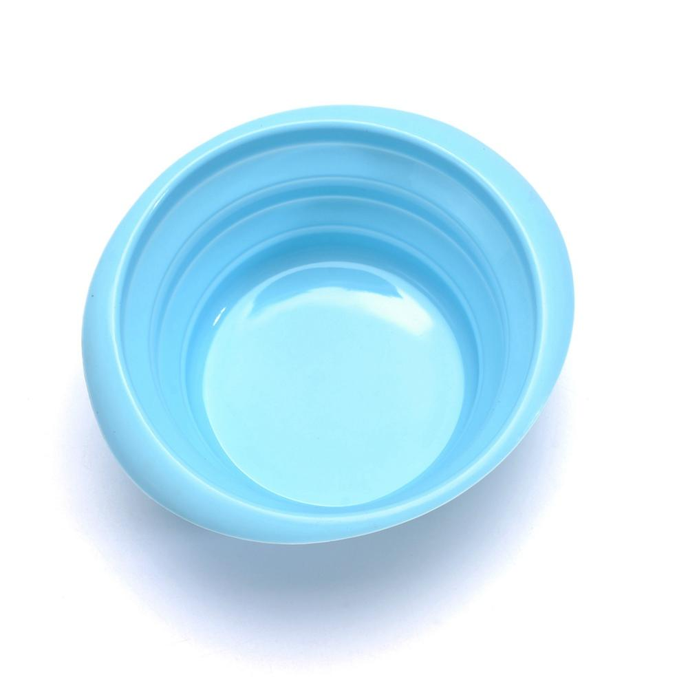 silicone foldable bowl pet bowl dog cat  travel folding bowl