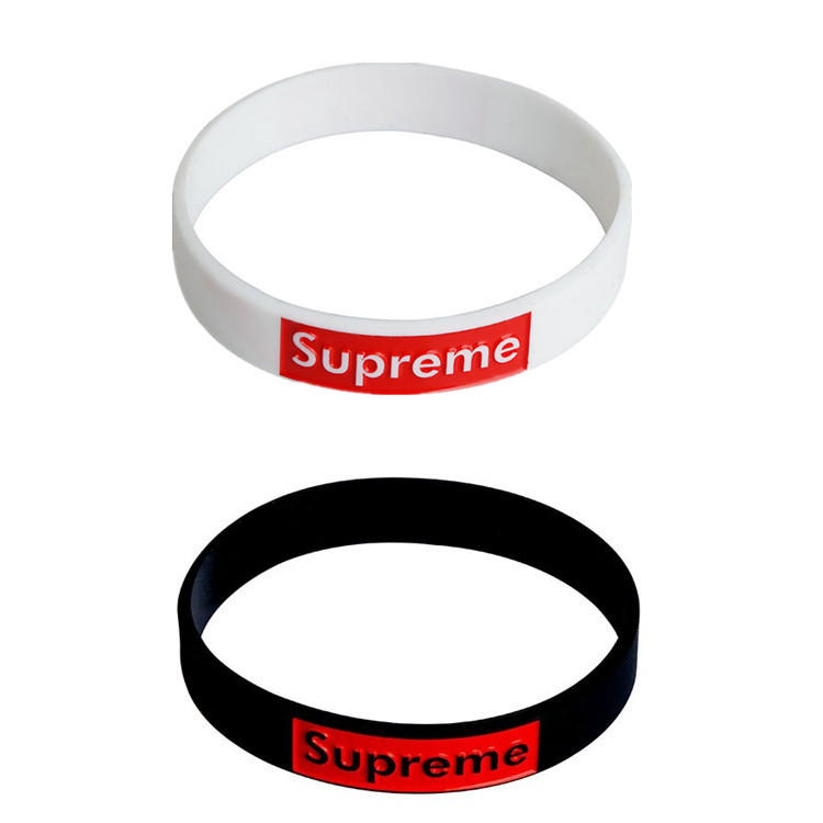 SEDEX Factory eco friendly custom logo silicone rubber wristband sport bracelet for festival