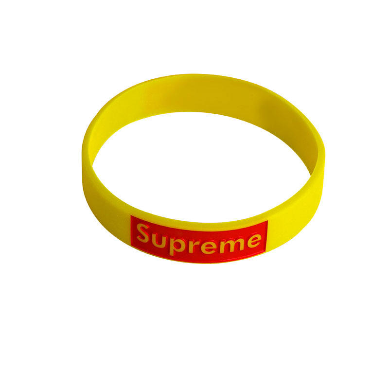 SEDEX Factory eco friendly custom logo silicone rubber wristband sport bracelet for festival