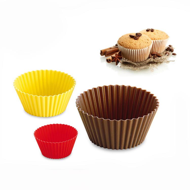 Non-stick Silicone Baking Cups Cupcake Silicone Muffin Cake Mold