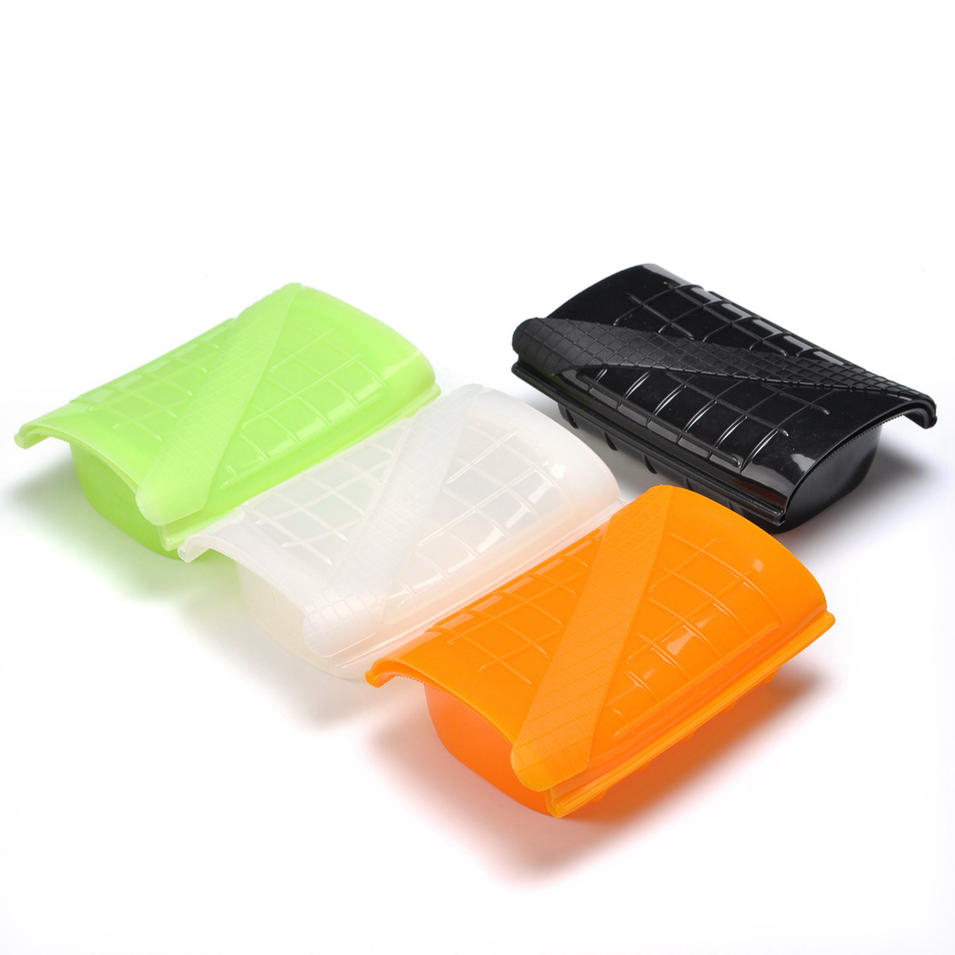 silicone lunch box bowl vegetable steamer Salad box