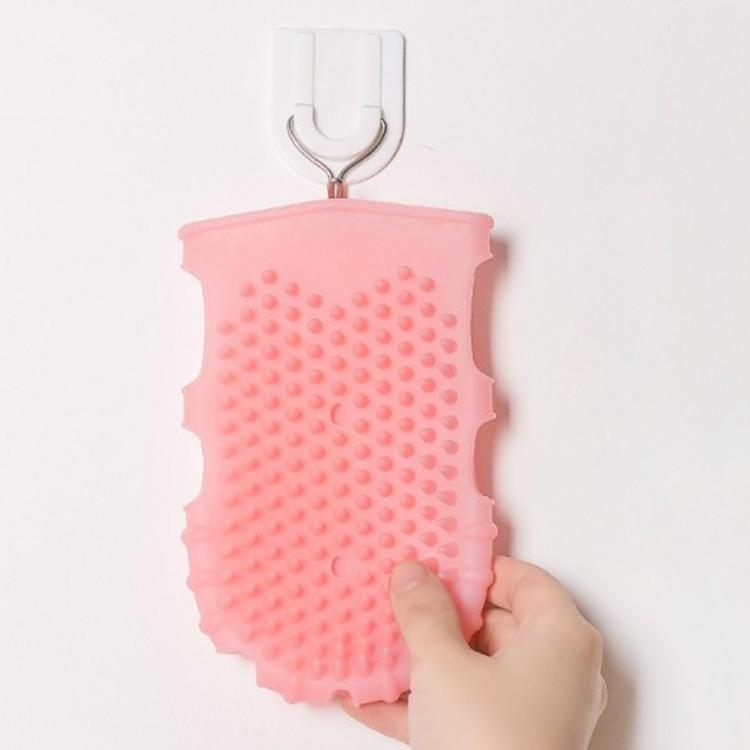 Silicone Bath Massage Glove Bath Brush Massage Brush Clean and Soft