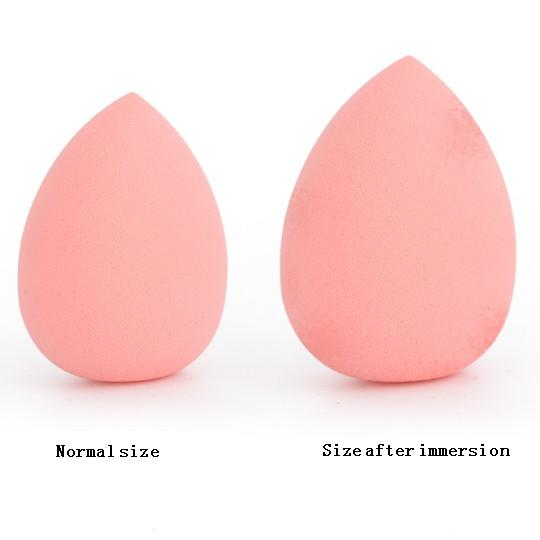 Lovely Beauty Water drop Calabash Shape Sponge Makeup puff for Powder Concealer and Foundation Applicator Cosmetic Powder Puff