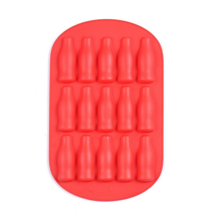 SEDEX 4 pillar factory cc silicone bottle ice mold tray