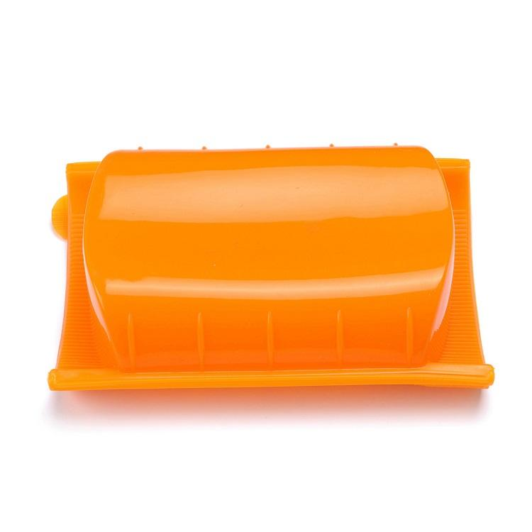Food Grade Portable Collapsible Microwave Safe Silicone Lunch Box
