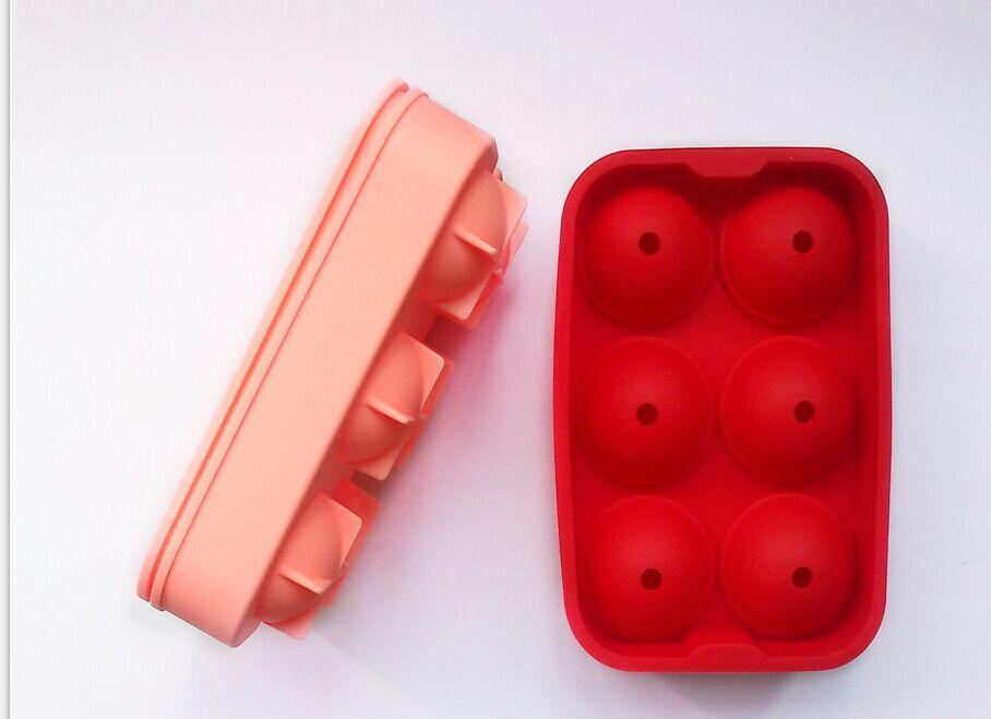Sedex factory direct silicone whisky ice ball maker ice cream ball mold