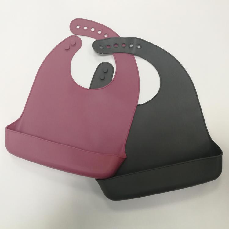 silicone baby bib waterproof bib comfortable soft bib