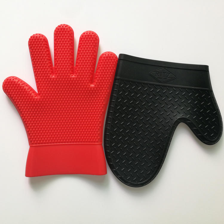 Heat Resistant Silicone Kitchen Gloves Dishwashing Gloves