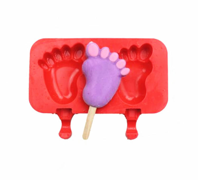 Silicone Popsicle Mold Ice Cream Bar Mold Ice Pop Mold