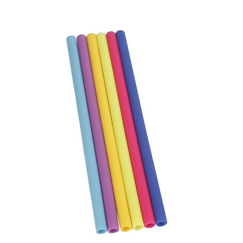 BSCI aduit factory resuable silicone straw with 100% food grade material