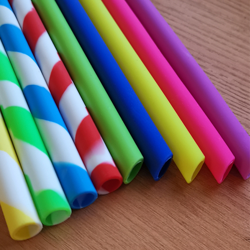 Top Silicone straw resuable for business for food storag-4