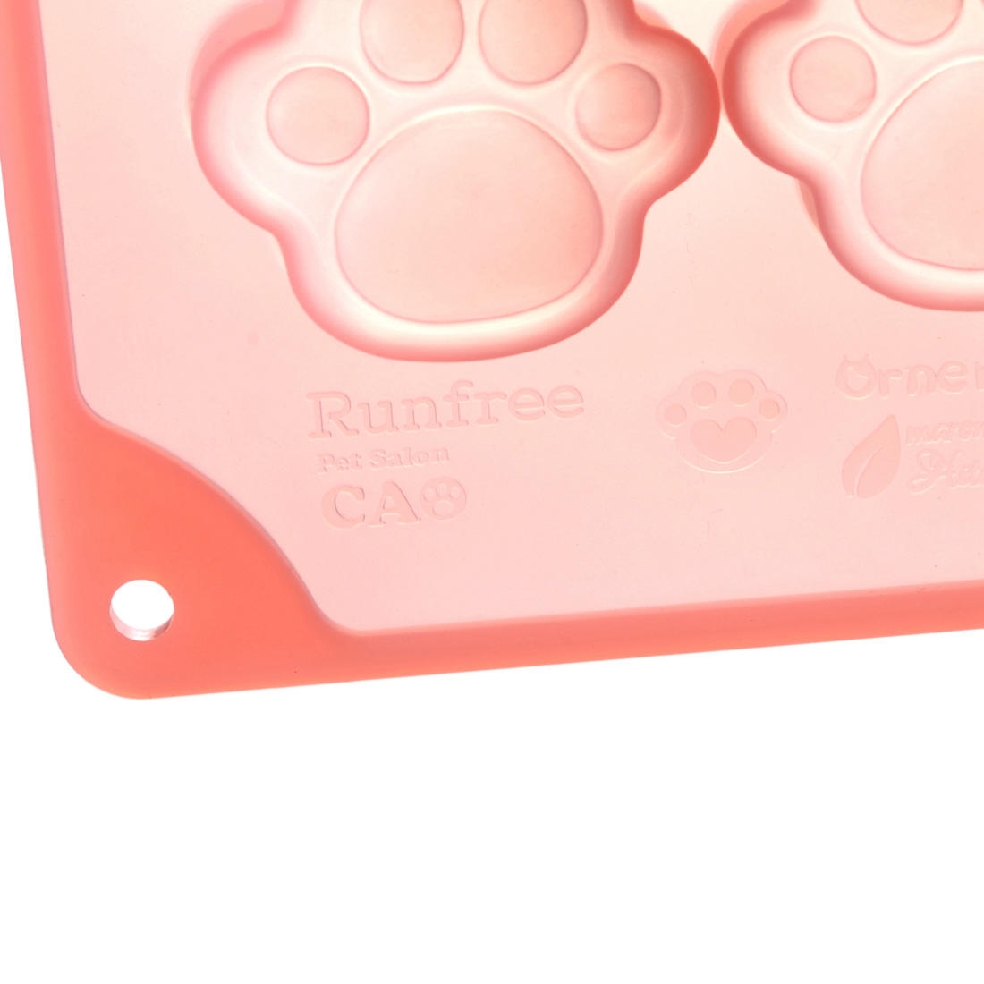 8 cavities dog paw butter cookies mold  pastry mold Silicone cheese cake molds