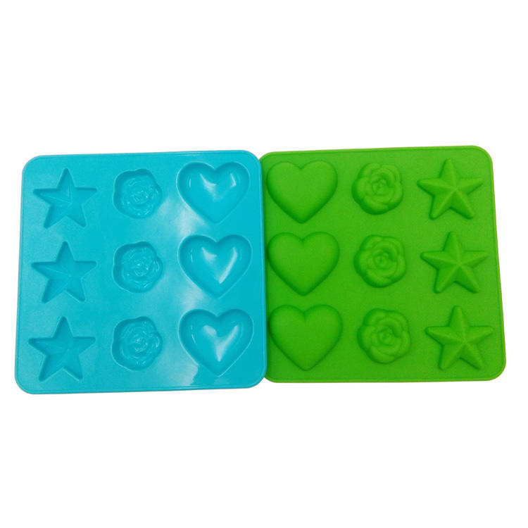 LFGB Approved Heart Shape Silicone Chocolate Mold Cake Mold