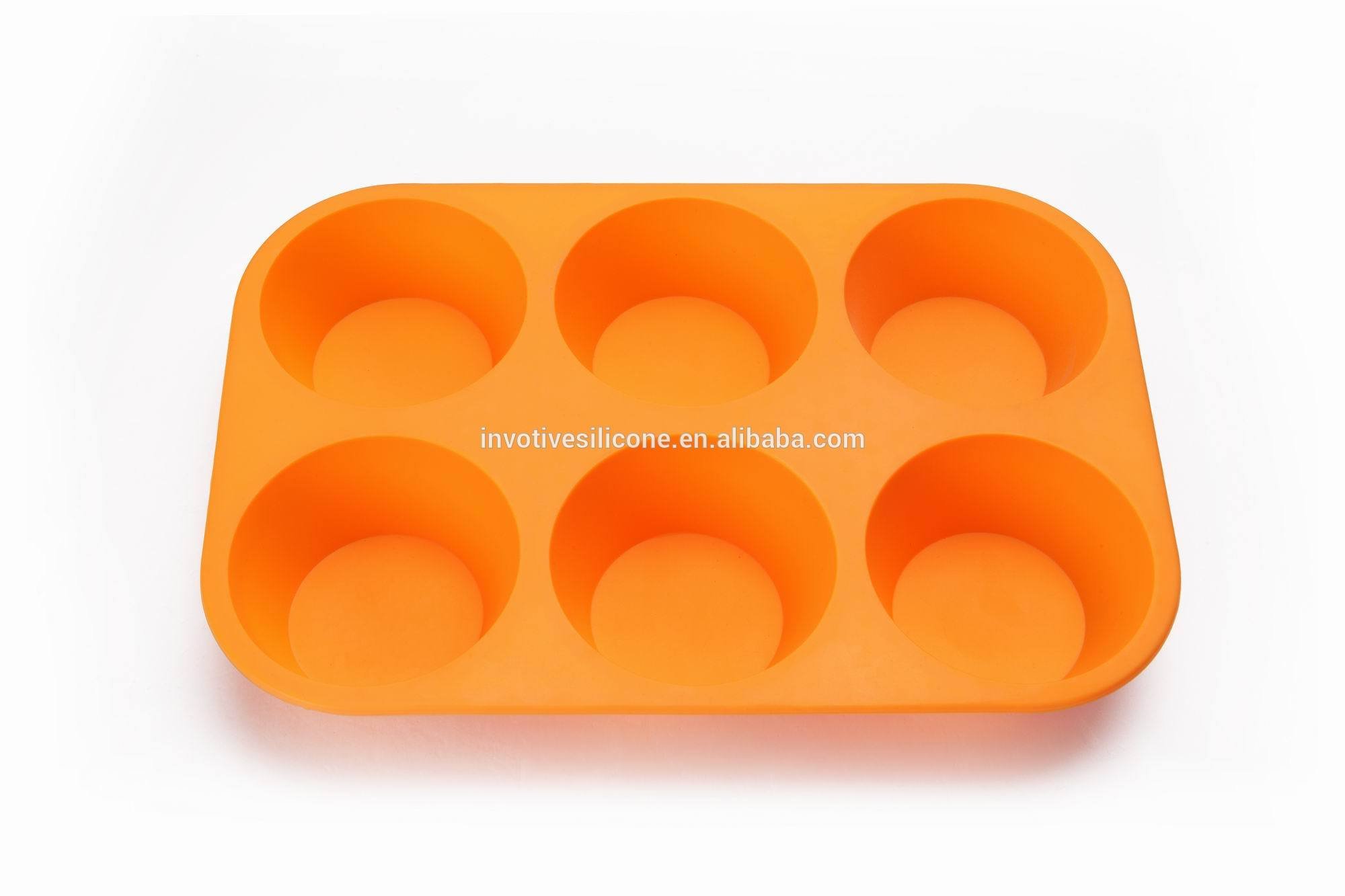 BSCI Factory Silicone non-stick 24 cups cake moulds 12 cups 6 cups muffin baking pan bakeware sets