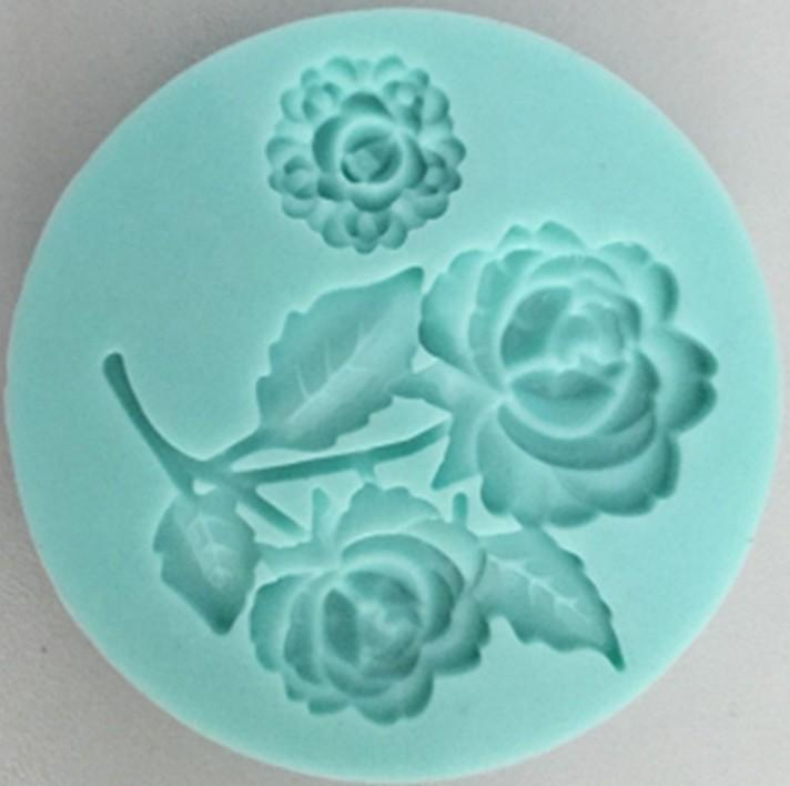 3D silicone decorations mold fondant mold