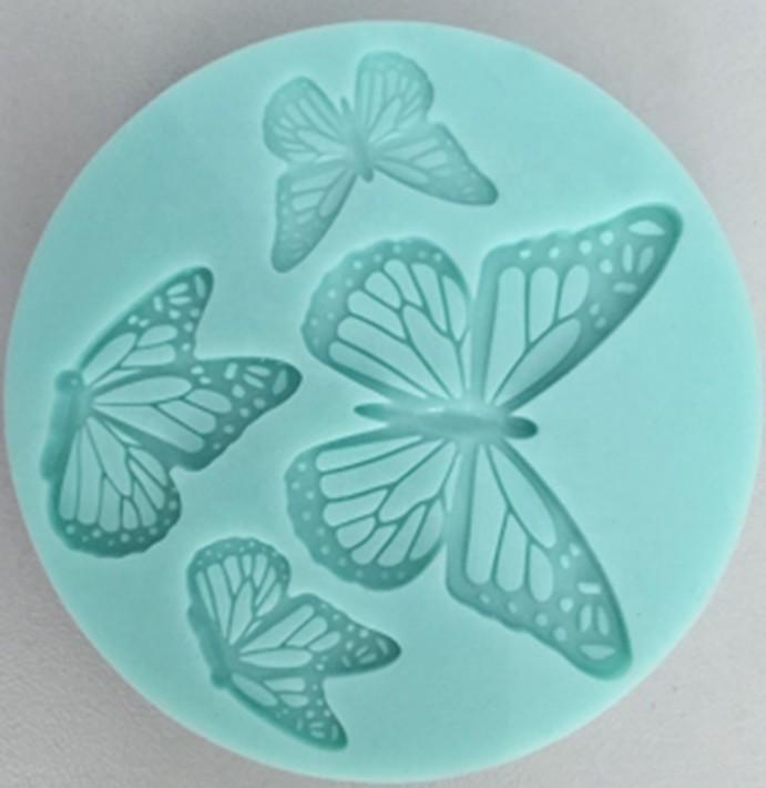 3D silicone decorations mold fondant mold
